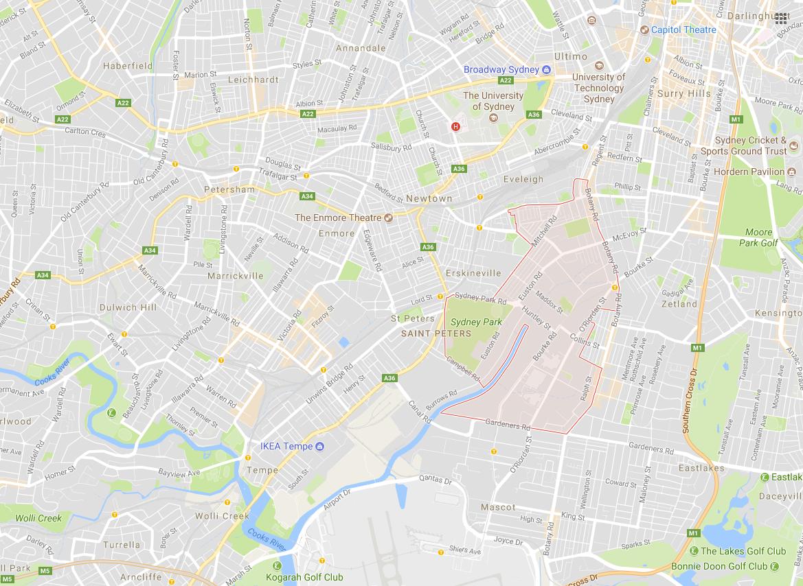 Clotheslines Alexandria 2015 NSW