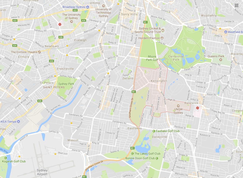 Clotheslines Kensington 2033 NSW