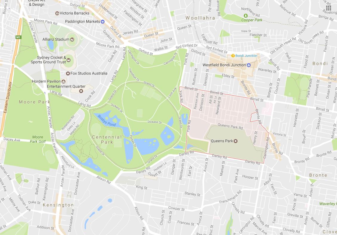 Clotheslines Queens Park 2022 NSW