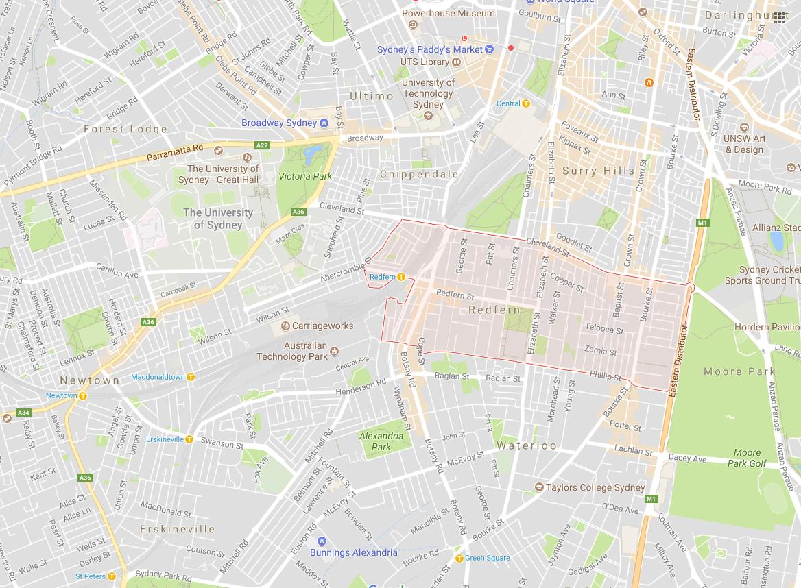 Clothesline Redfern 2016 NSW