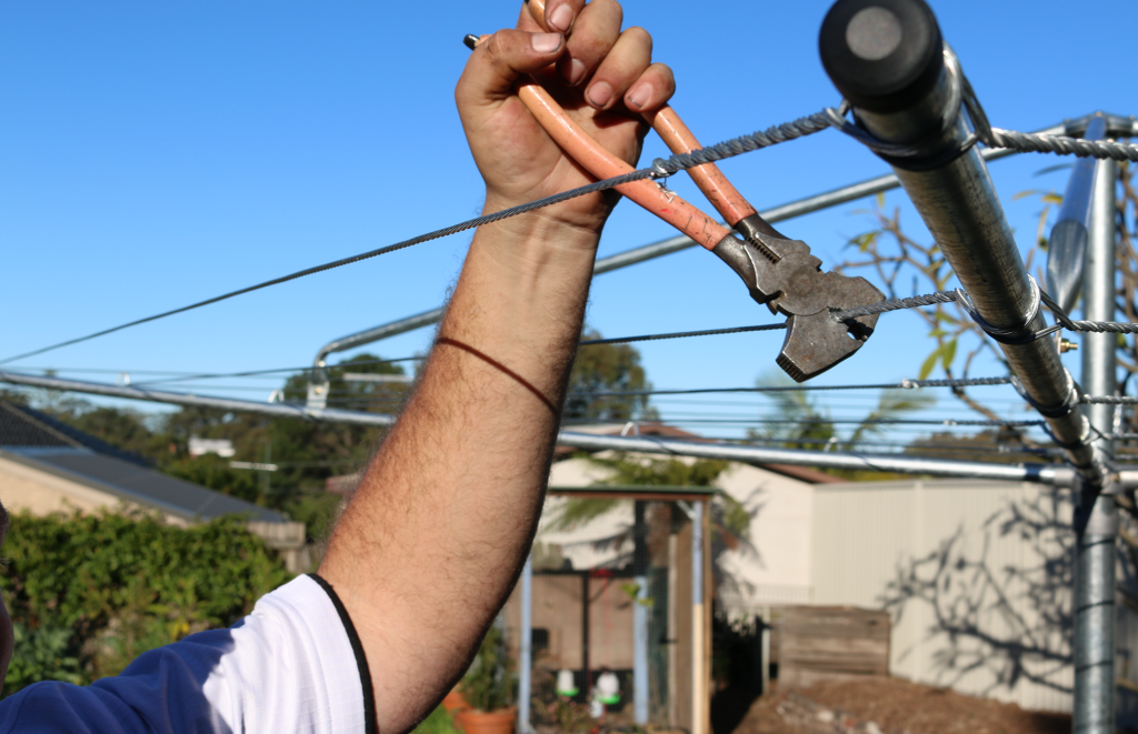 Clothesline Installation and Removal