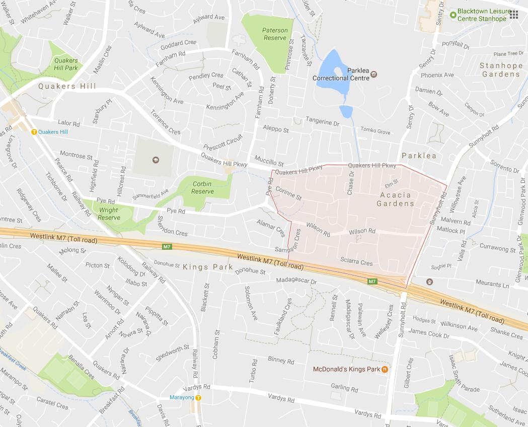 Clothesline Acacia Gardens 2763 NSW