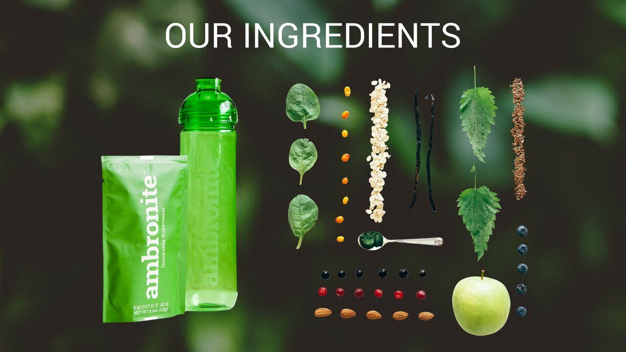 Ambronite Ingredients