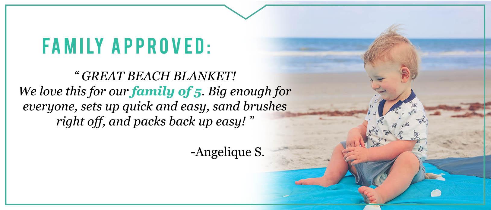 Baby Beach Blanket