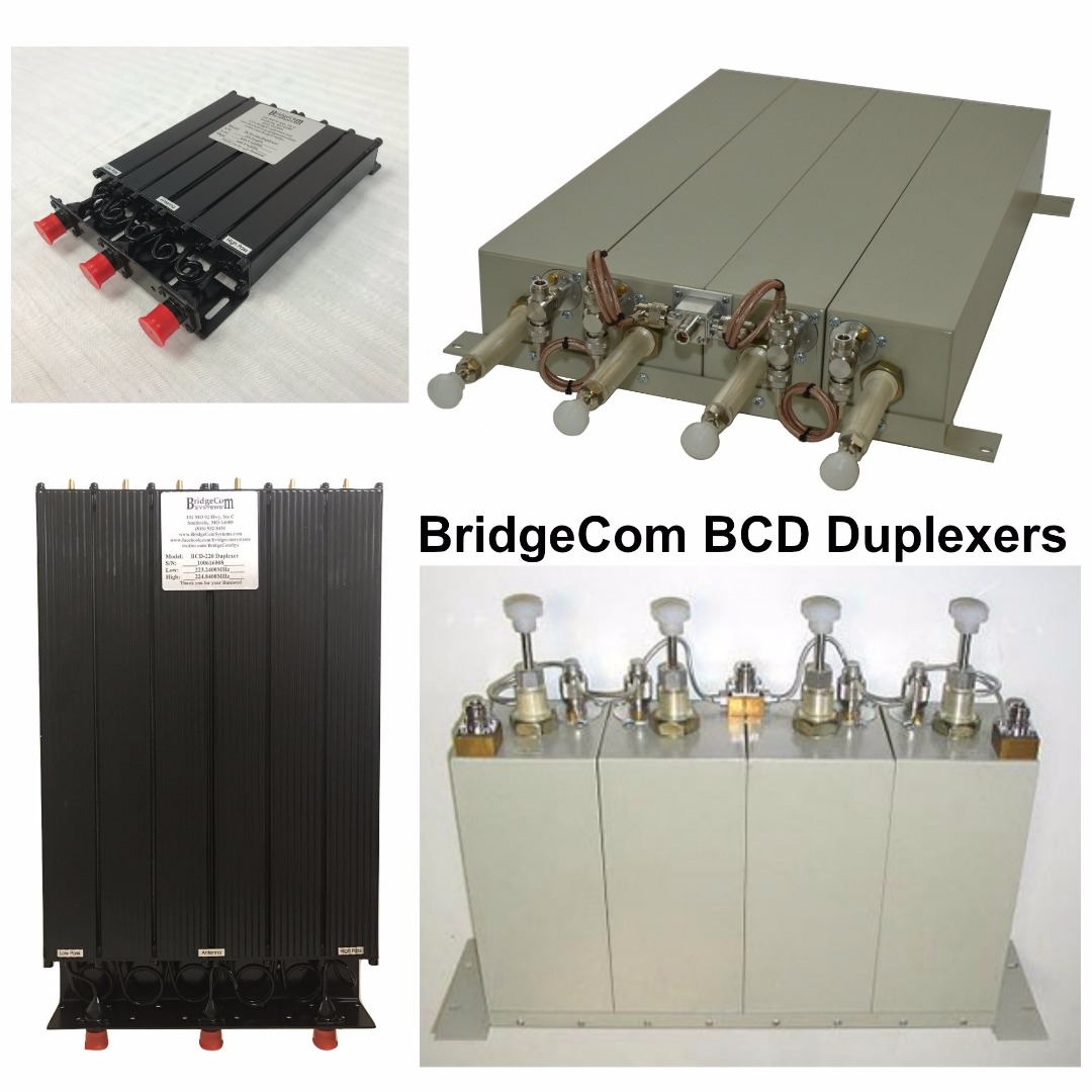 BridgeCom BCD Duplexers