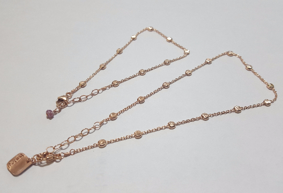 matching anklet set