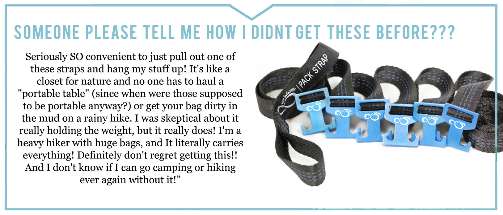 Camping Gear Strap review