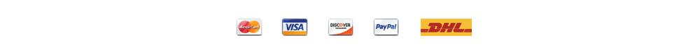 Ambronite Payment Options MasterCard Visa PayPal DHL
