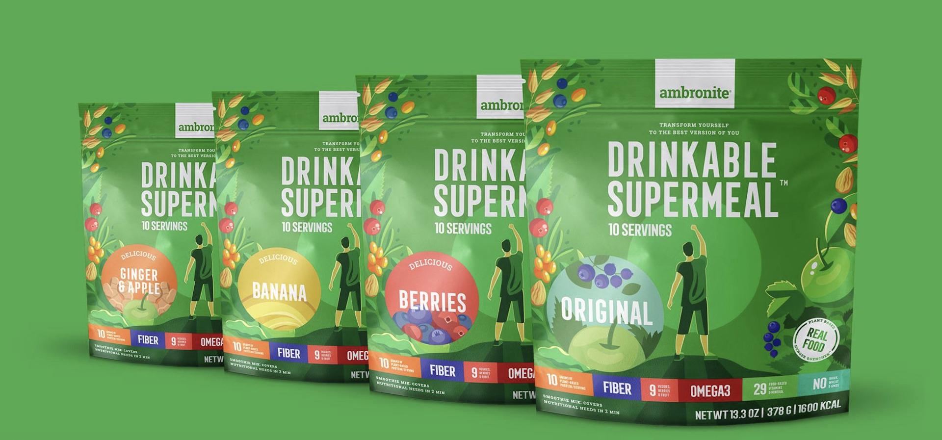 Ambronite 4-Flavor Bundle Subscription 17% off