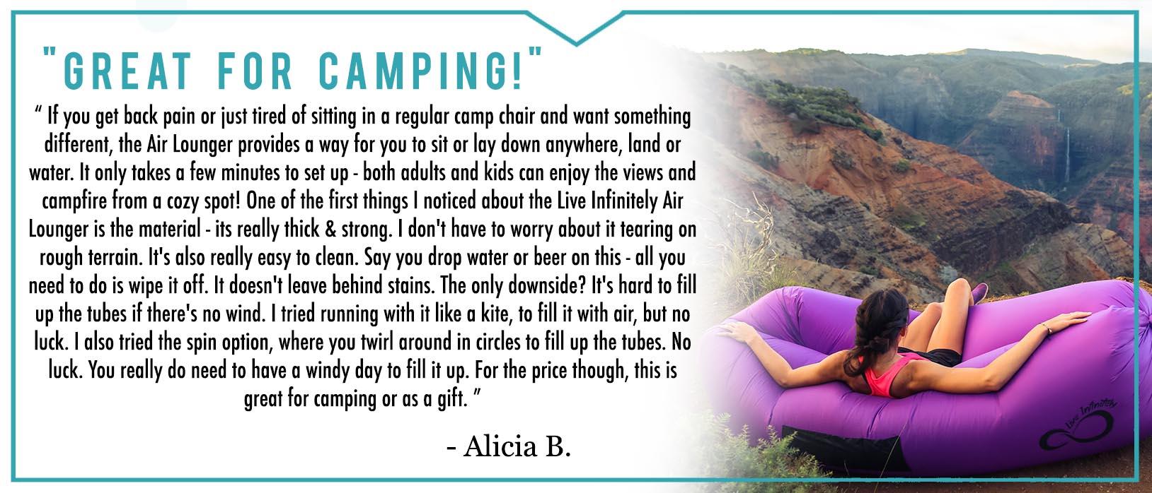 Camping Lounger