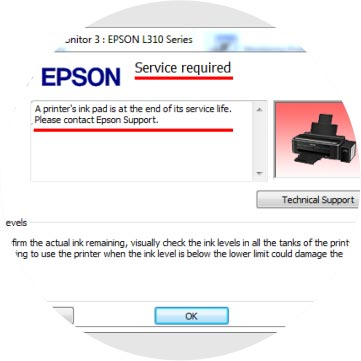 Download Reset Epson L120, L1300, L310, L1800, L220, L360