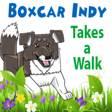 4-Legged Leadership - Boxcar Indy Takes A Walk - Tremendous Leadership