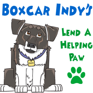 4-Legged Leadership - Boxcar Indy Lend A Helping Paw - Tremendous Leadership