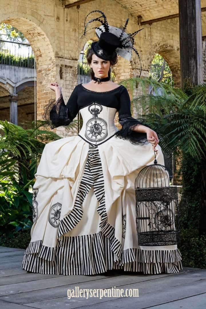 Planning Your Dream Gothic or Steampunk Wedding Gown