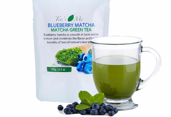 blueberry-matcha-green-tea-organic-japanese-sweet-powder