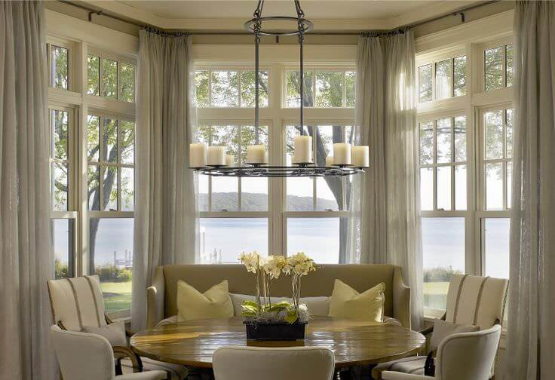 Curved Curtain Rods for beautiful curved windows! – Continental ...
