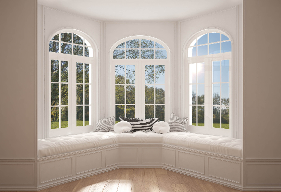 Continental Window Fashions Curved Curtain Rods