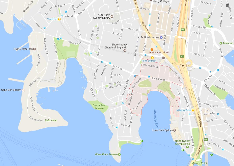 Clotheslines Lavender Bay 2060 NSW