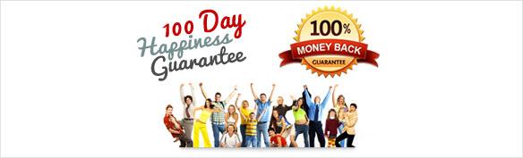 100 Day Happiness Guarantee