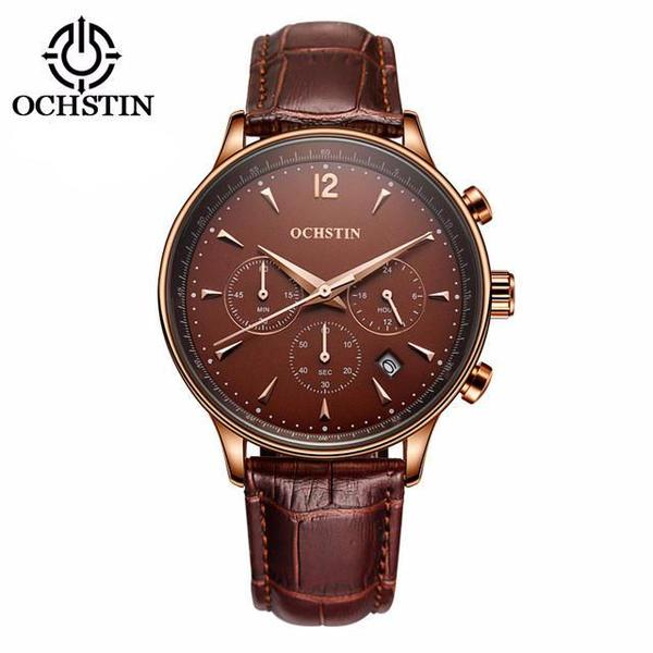 THE CHAMPION - Luxury Leather Watch