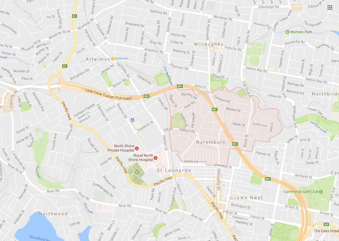 Clothesline Naremburn 2065 NSW