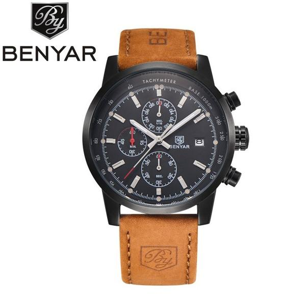 THE OMNI - Luxury Leather Watch
