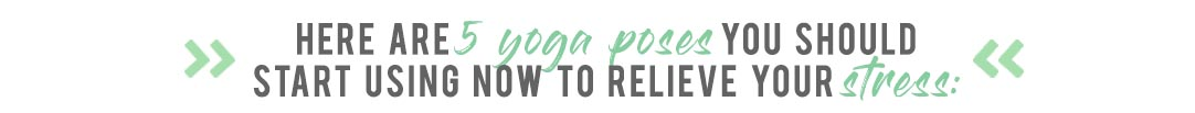 Yoga Stress Relieving