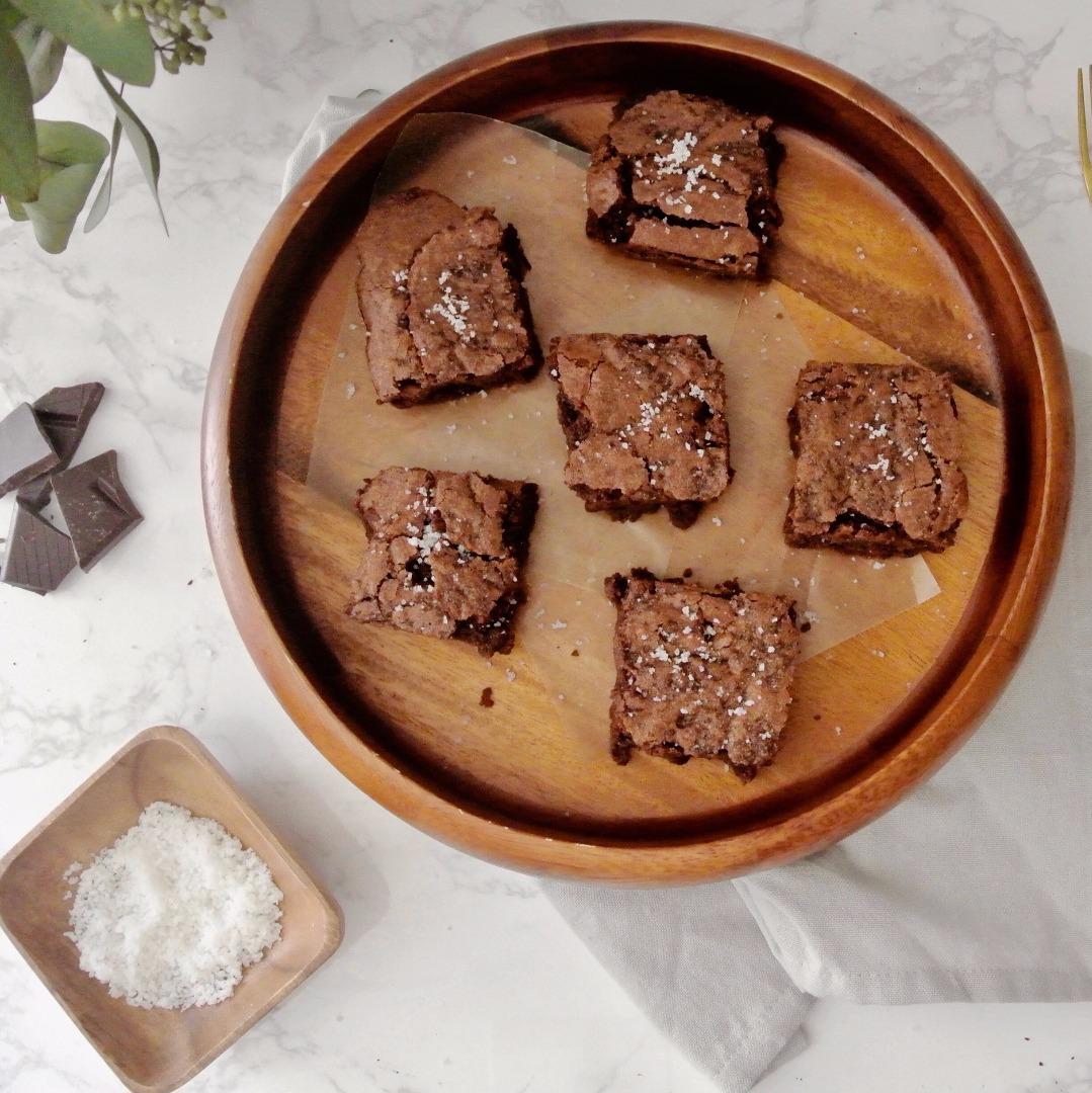 Fleur de Sel Brownies