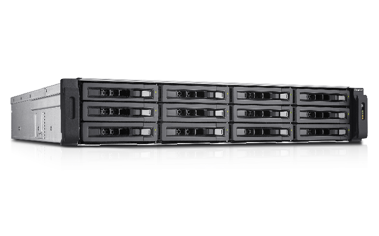 QNAP TS-EC1280U, featuring the easy-to-use QTS operating system