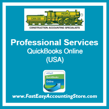 Professional Services QuickBooks Online Template USA