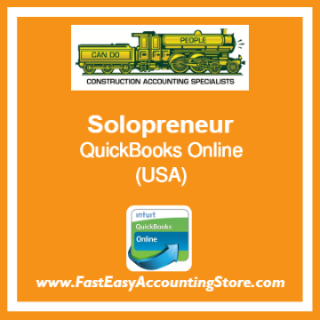 Solopreneur QuickBooks Online Template USA