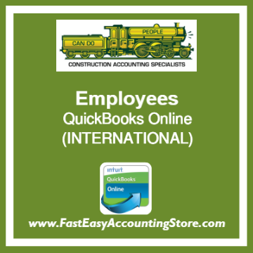 Employees QuickBooks Online Setup Template International