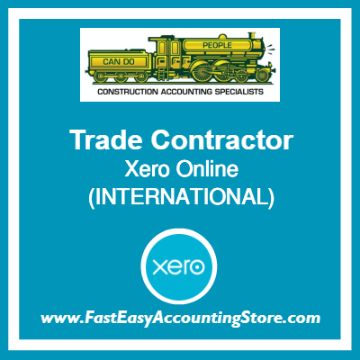 Trade Contractor Xero Online International