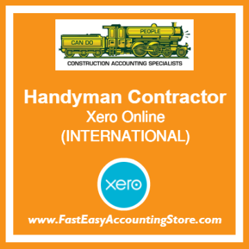 Handyman Contractor Xero Online International
