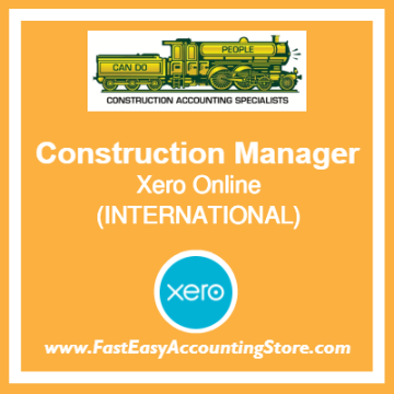 Construction Manager Xero Online International