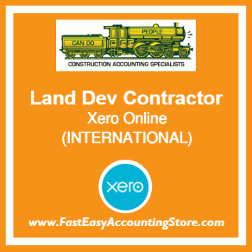 Land Development Contractor Xero Online International