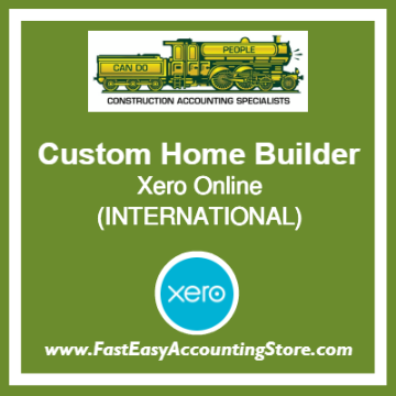 Custom Home Builder Xero Online International