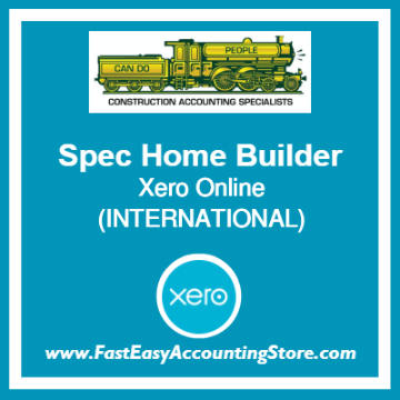 Spec Home Builder Xero Online International