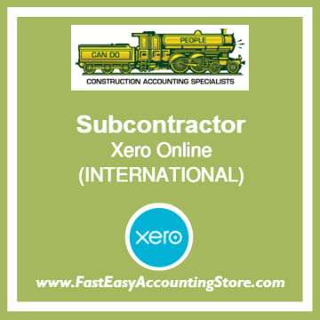 Subcontractor Xero Online International