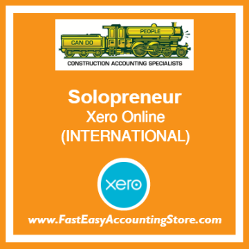 Solopreneur Xero Online International