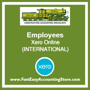 Employees Xero Online International
