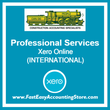 Professional Services Xero Online International