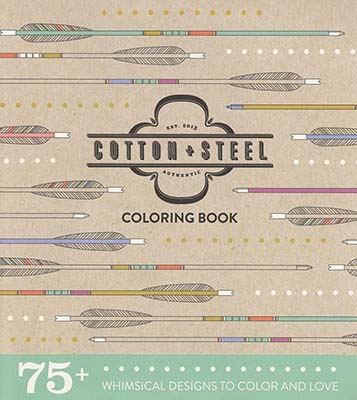 cotton steel coloring book