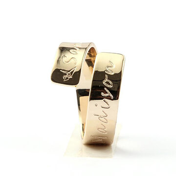 Petra Personalized Ring