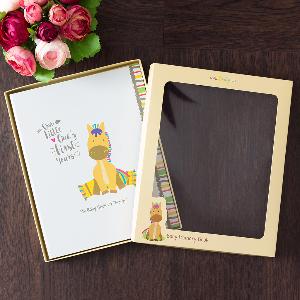 Ronica Farm Animal Baby Memory Book - Moo, Meow, Quack - 60 Page Keepsake Photo Album