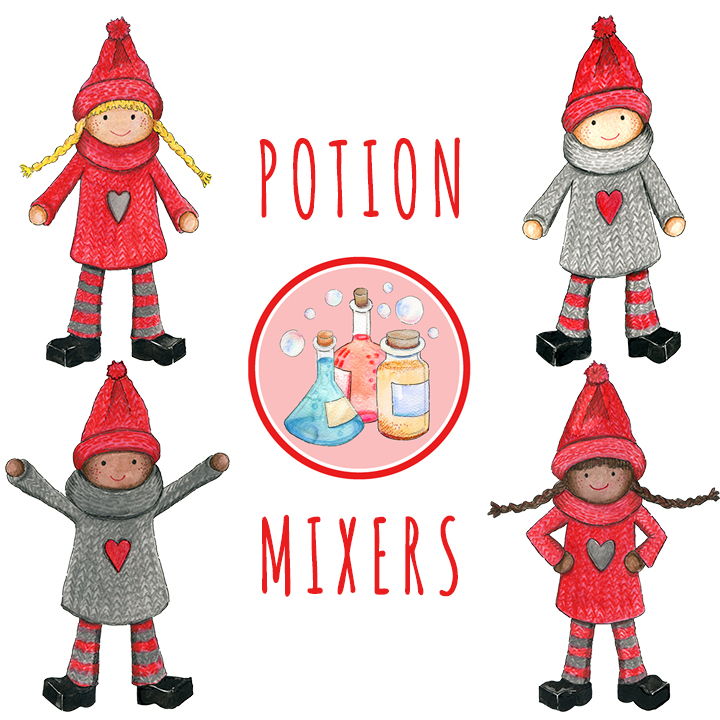 Kindness Elves Potion Mixers