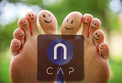nCAP Pain Relief toes