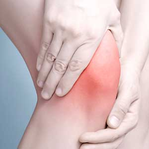 how does knee pain feel