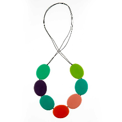 Wonderland Flat Disc Necklace