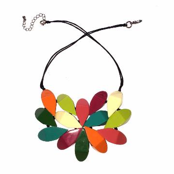 Flat Disc Necklace